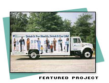Featured Project for Truck Sign Design